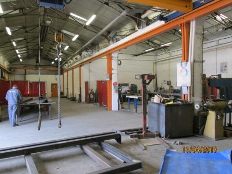 atelier métallerie acier