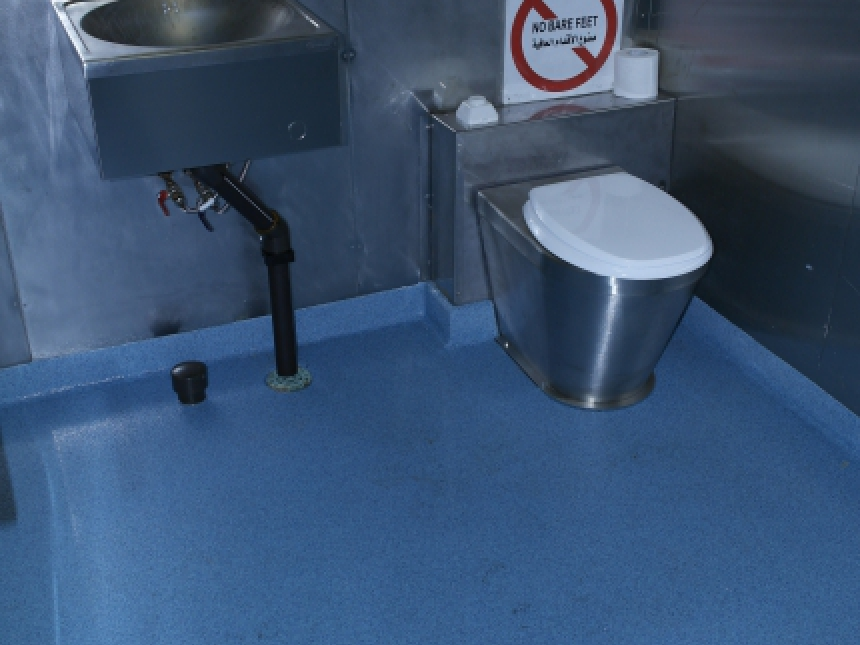 accomodation GSF Constellation II sanitary