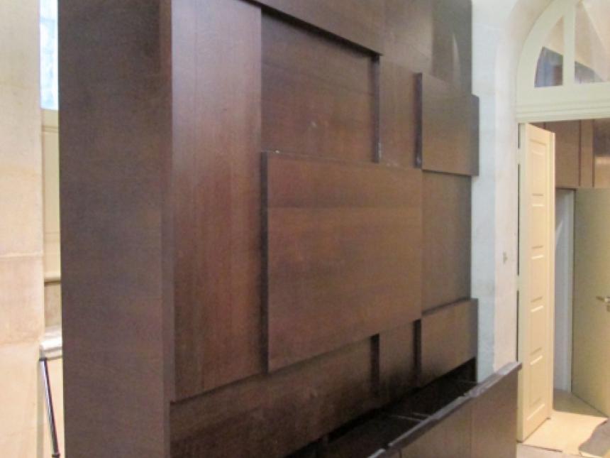 Palais Longchamp banque accueil chêne