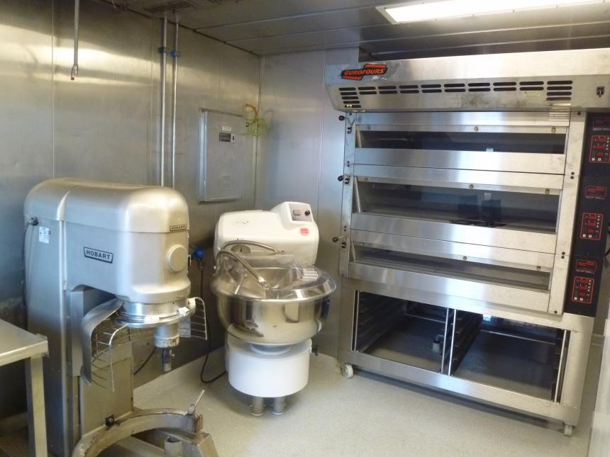 Revamping en exploitation des cuisines Girassol  matériel
